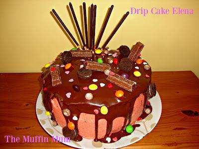 Drip cake chocolate y fresa