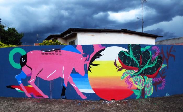 Уличный художник. Zeh Palito 11