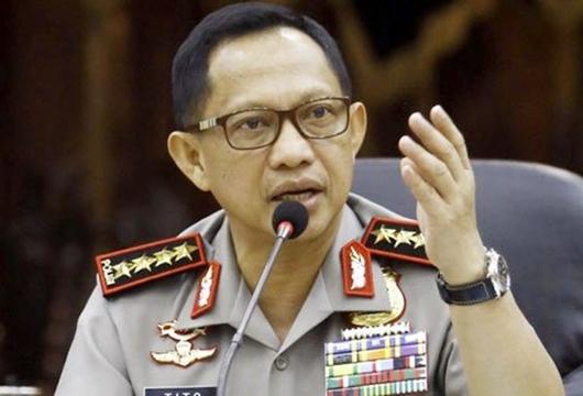Polri Usut Pembuat Akun Twitter Palsu atas Nama Kapolri Tito