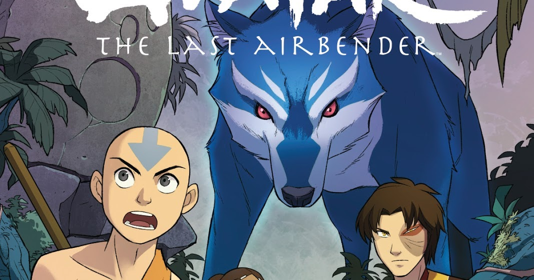 Official Covers Of Avatar: The Last Airbender Comic Book