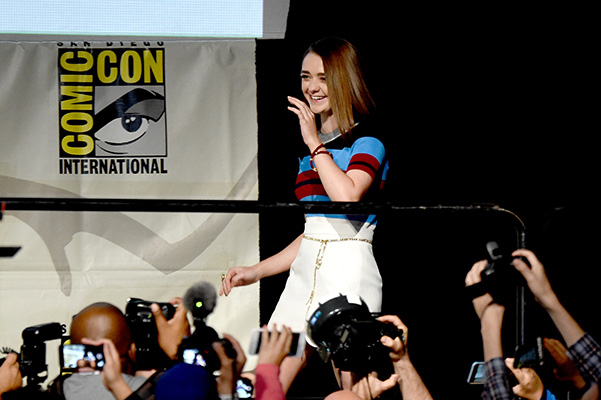 Game of Thrones at Comic-Con 2015 Maisie Williams
