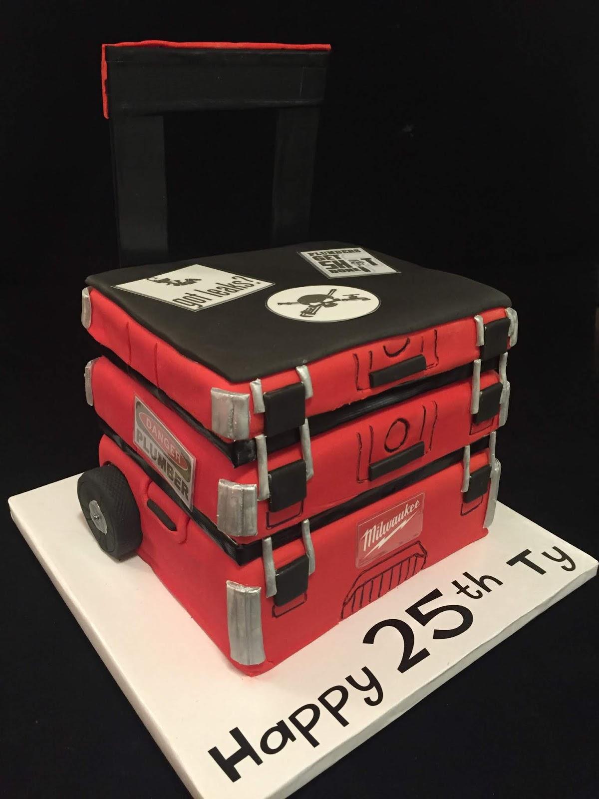 Ty S Milwaukee Tool Box Cake