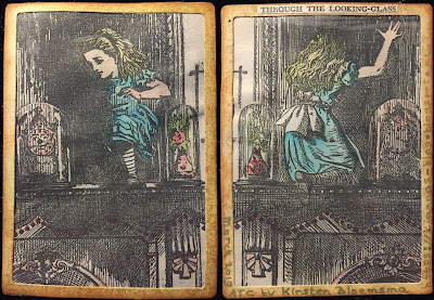 Alice in Wonderland Through the Looking Glass ATC