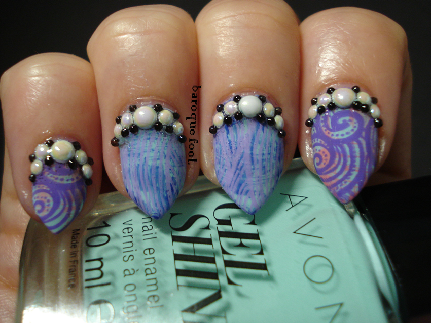 baroque fool: Cici & Sisi Ocean 01 Acrylic stamping plate review ...