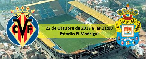 Previa Villarreal CF - UD Las Palmas 11:00h 22 Octubre