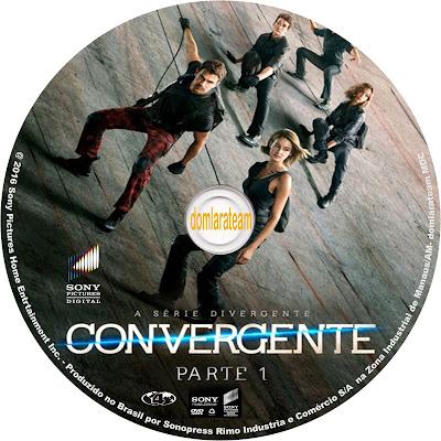 Label DVD A Série Divergente Convergente