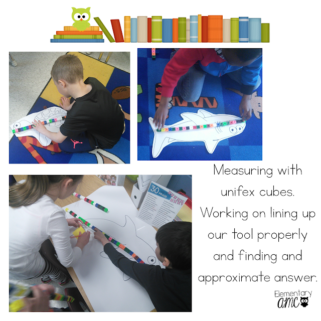 measuring with unifex cubes