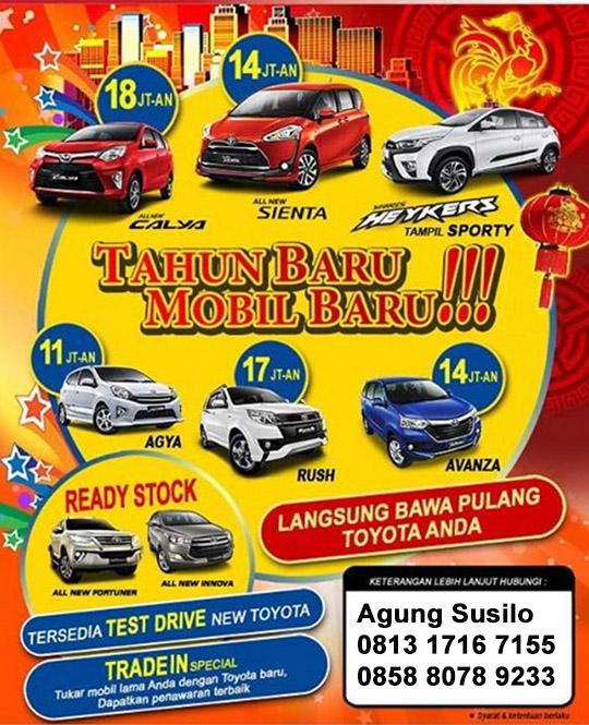 Promo Toyota Kedaton Tangerang 2017