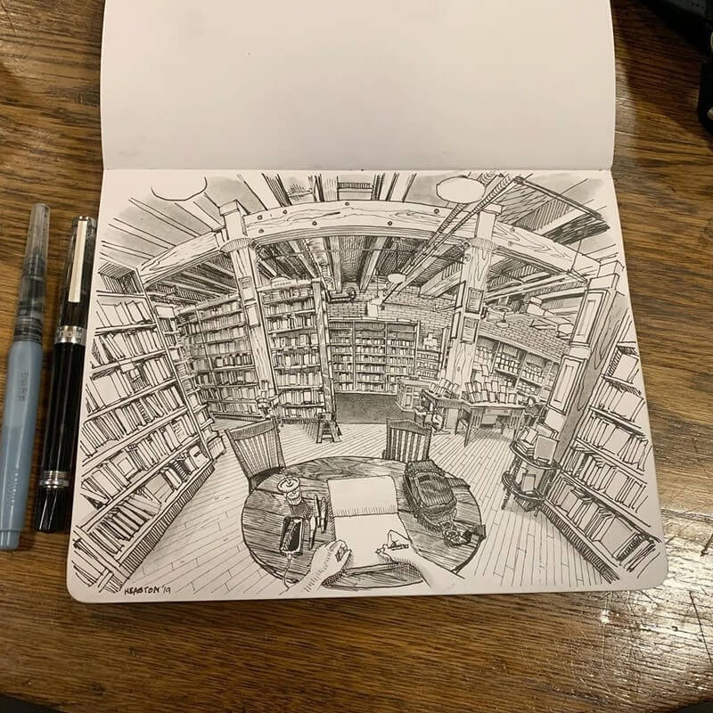 01-Paul-Heaston-Moleskine-Urban-Drawings-with-a-Point-of-View-www-designstack-co