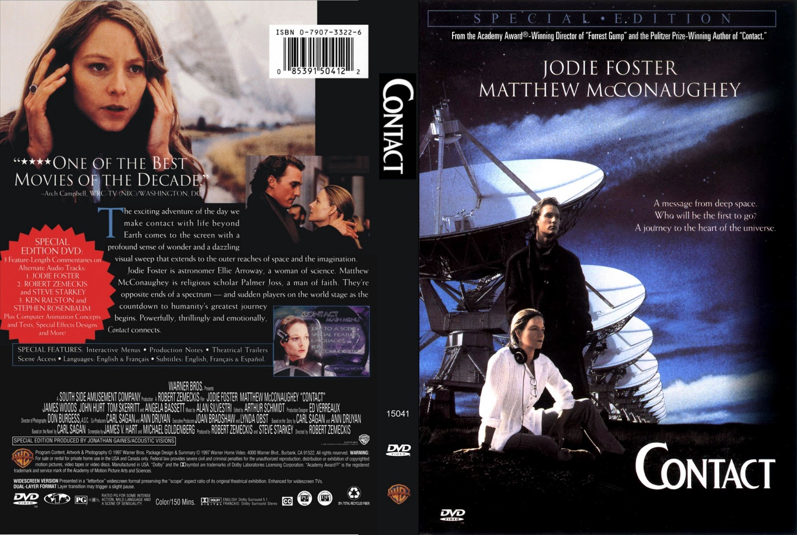Movies Collection Contact 1997