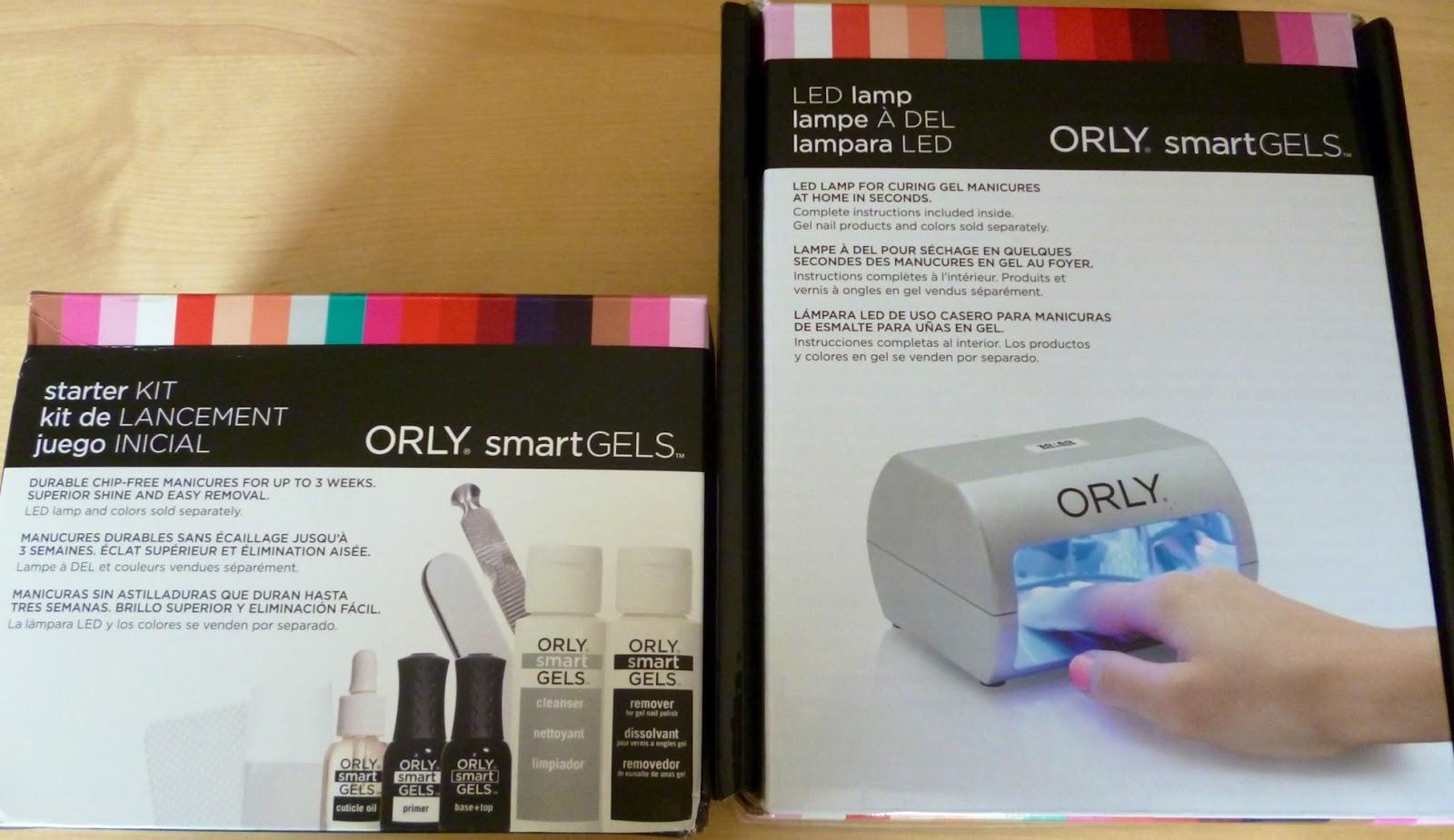 Just polished. : orly smartgels diy gel nail kit.