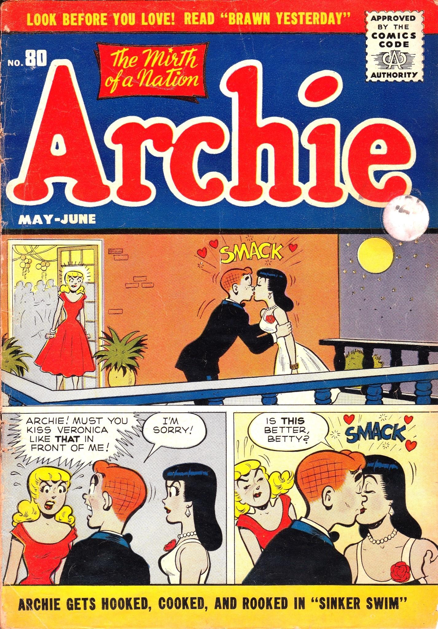 Archie Comics 080 Page 1