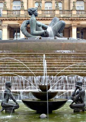 Statues in Victoria Square, Birmingham