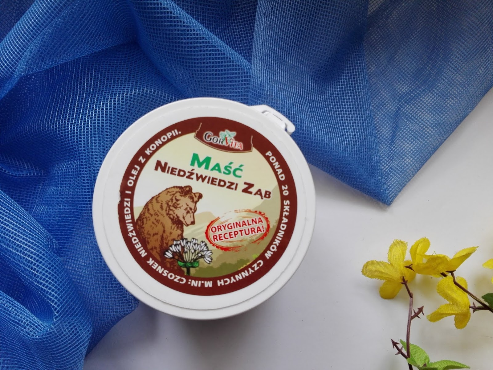 Maść Niedźwiedzi Ząb / Gorvita - ulga dla bolących mięśni