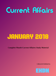 JANUARY 2018 : Complete Month CA Study Material