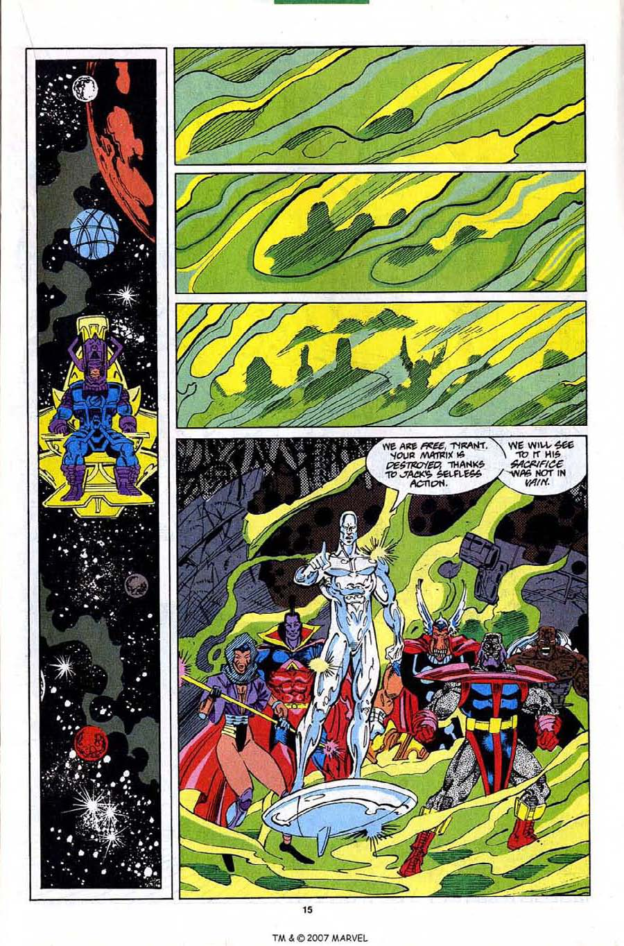 Read online Silver Surfer (1987) comic -  Issue #82 - 17