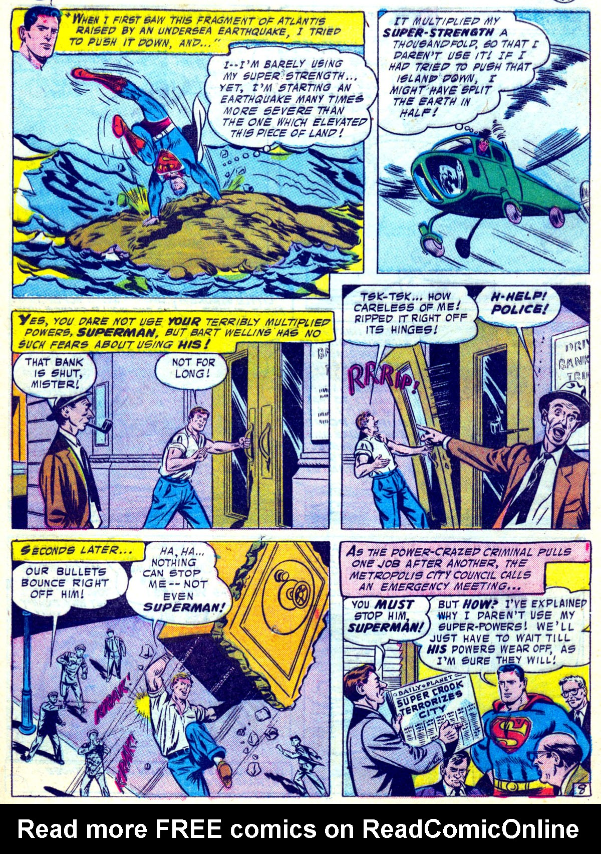 Read online Action Comics (1938) comic -  Issue #230 - 10