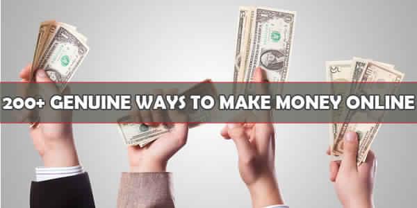 200 طريقة في ربح المال من الانترنت