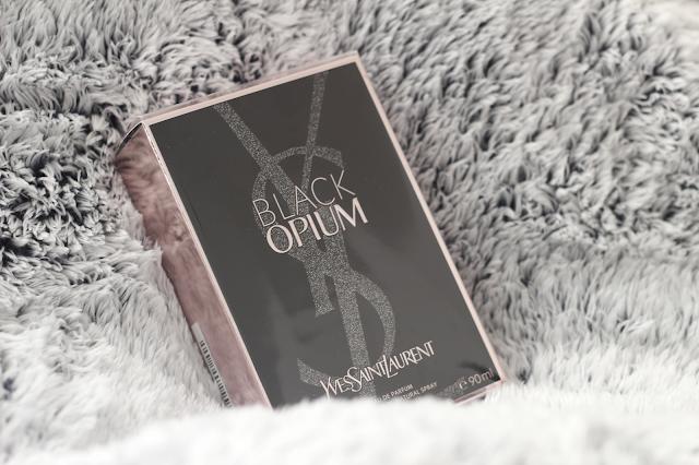 ysl black opium christmas present