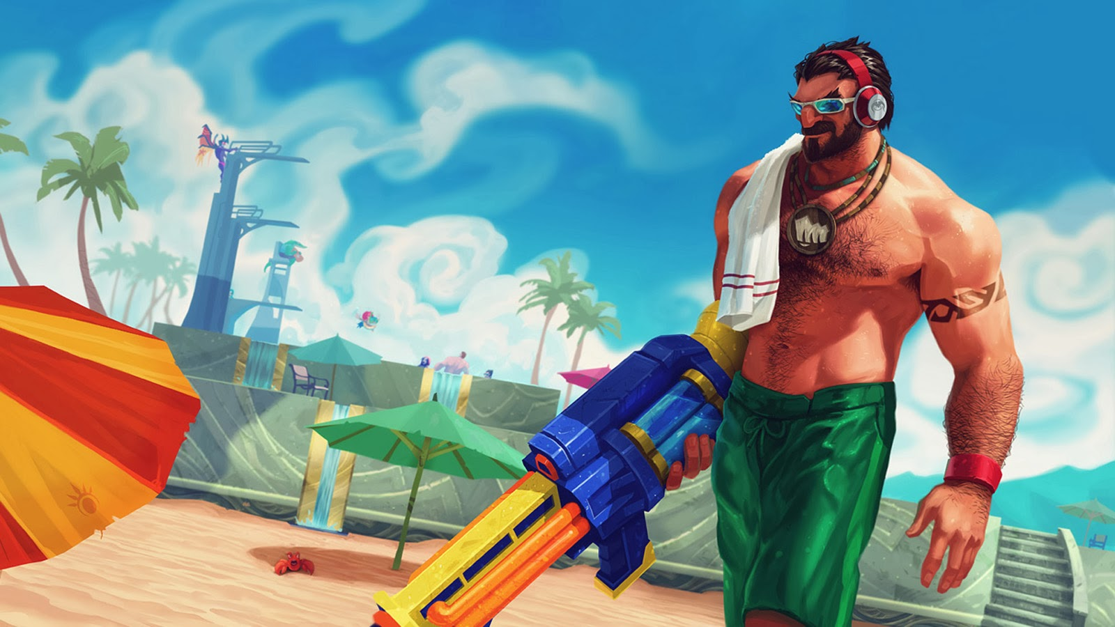So no Pool Party Skins this Summer? : leagueoflegends