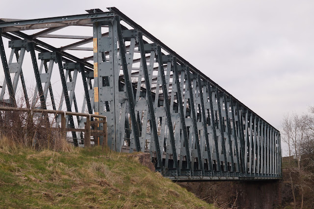 military bridge over river Eden