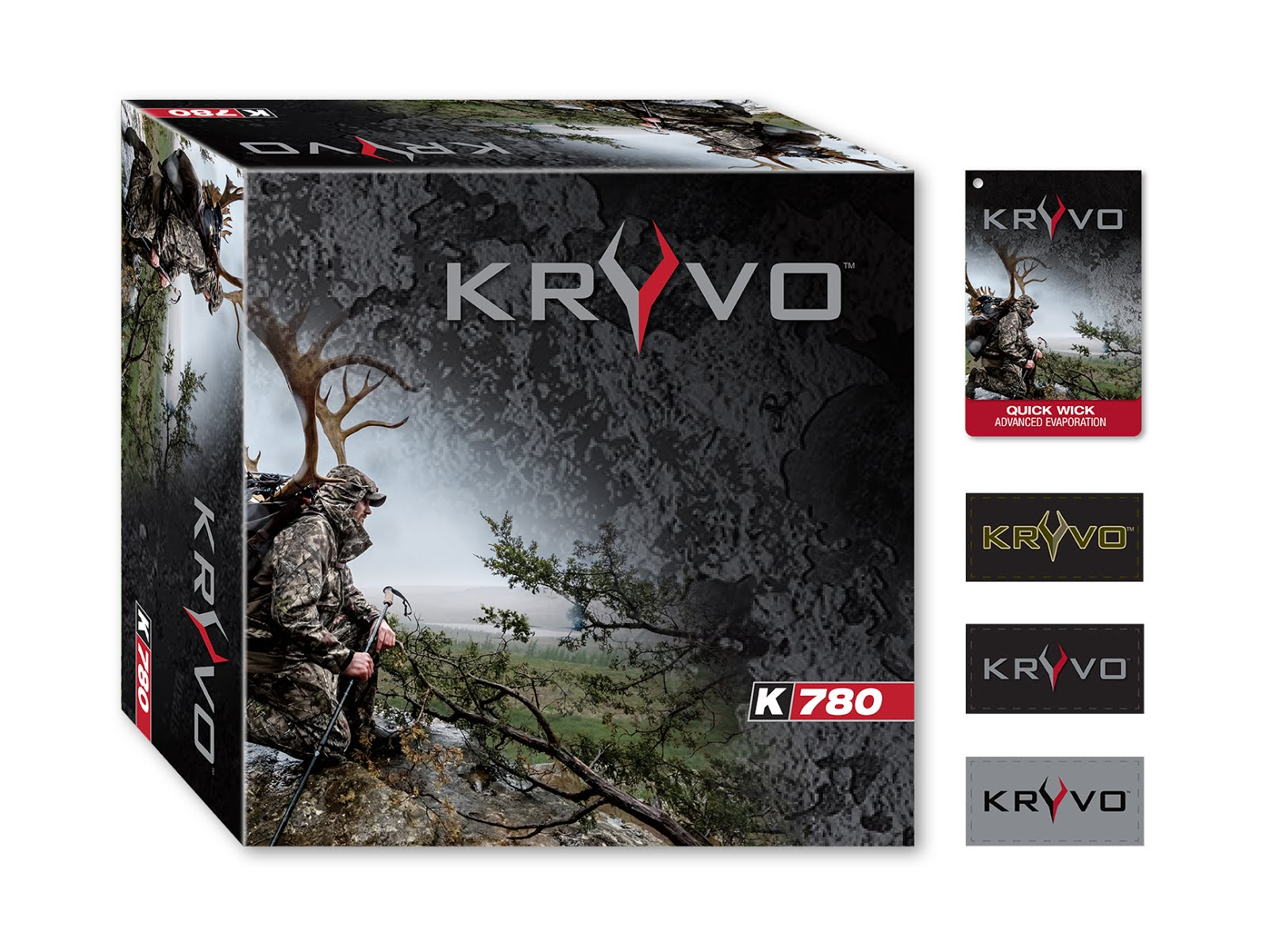 Kryvo Shoe Box and Hang Tag