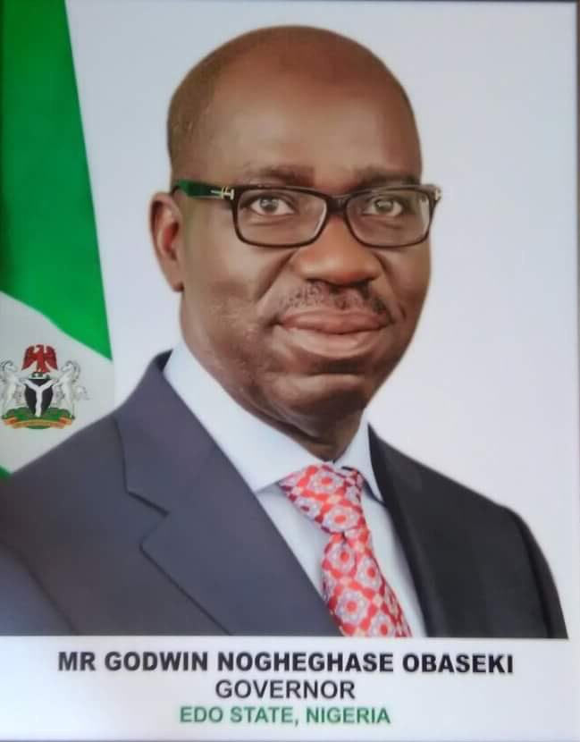 See the official portrait of new Edo State governor Godwin Obaseki