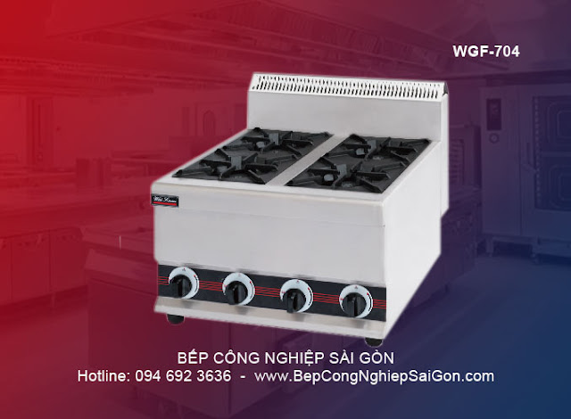 Bếp âu 4 kiềng cao cấp Waailan WGF - 704