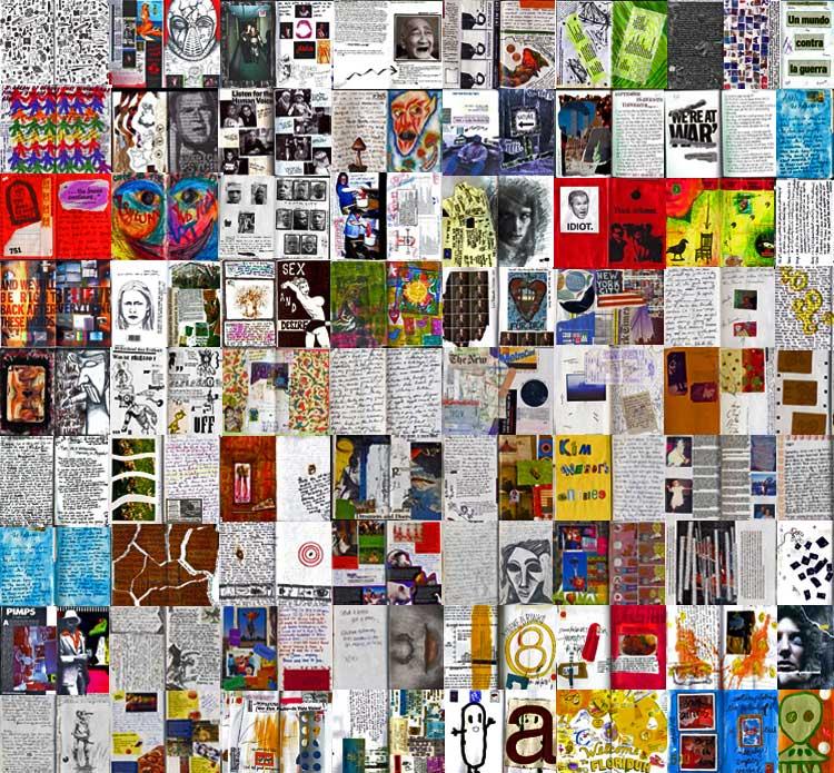 Mavis Fitzpatrick: collages wallpaper