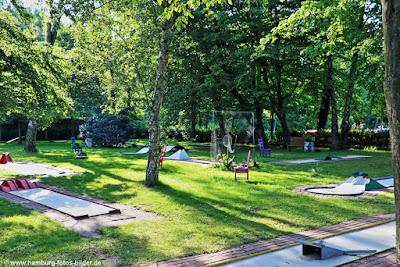 Minigolf im Naturbad Kiwittsmoor