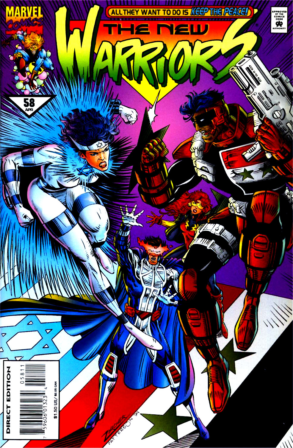 The New Warriors Issue #58 #62 - English 1
