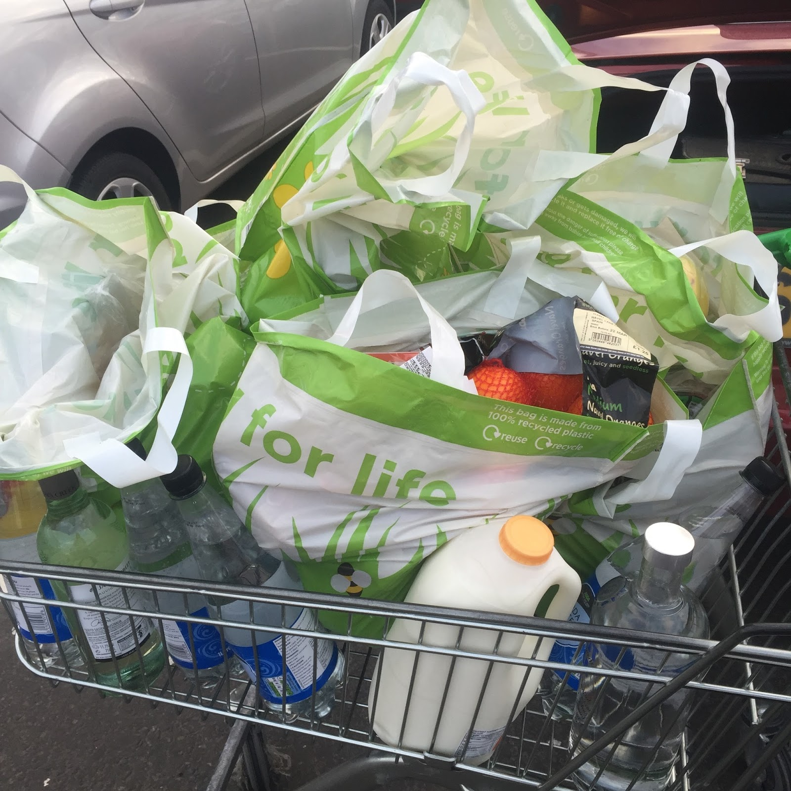 Weight Loss Wednesday - What's In My Shopping Trolley