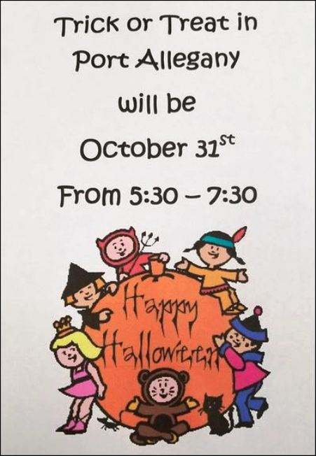 10-31 Trick or Treat, Port Allegany