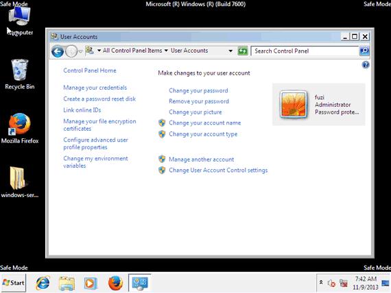 bypassing windows password on laptop