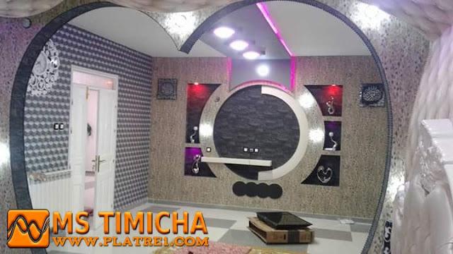 Meuble Tv En Placoplatre Plâtre Maroc Ms Timicha