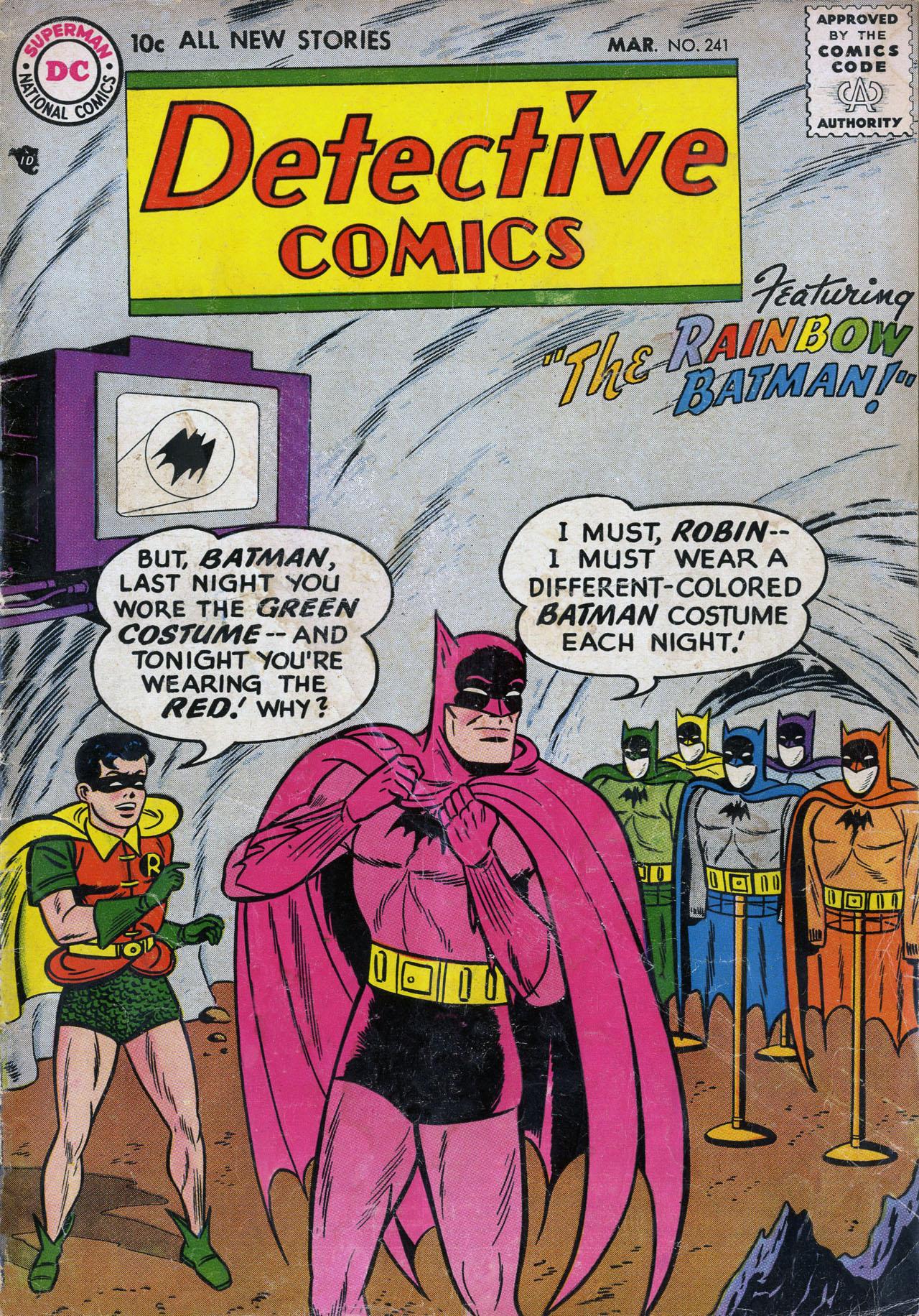 Read online Detective Comics (1937) comic -  Issue #241 - 1
