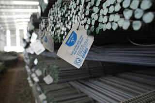 Biểu giá sắt thép xây dựng tăng theo nhu cầu thế giới