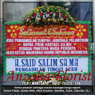 Bunga papan, toko bunga, anzalia florist, toko bunga cikrang