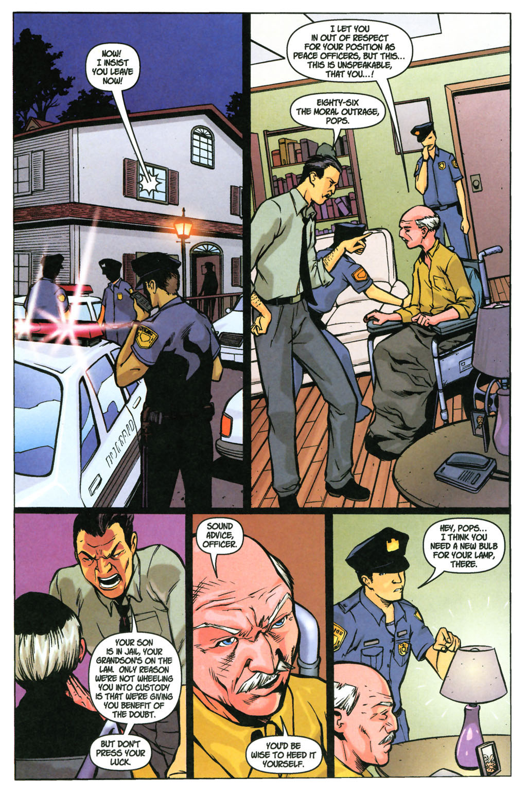 Read online SpyBoy: Final Exam comic -  Issue #3 - 12