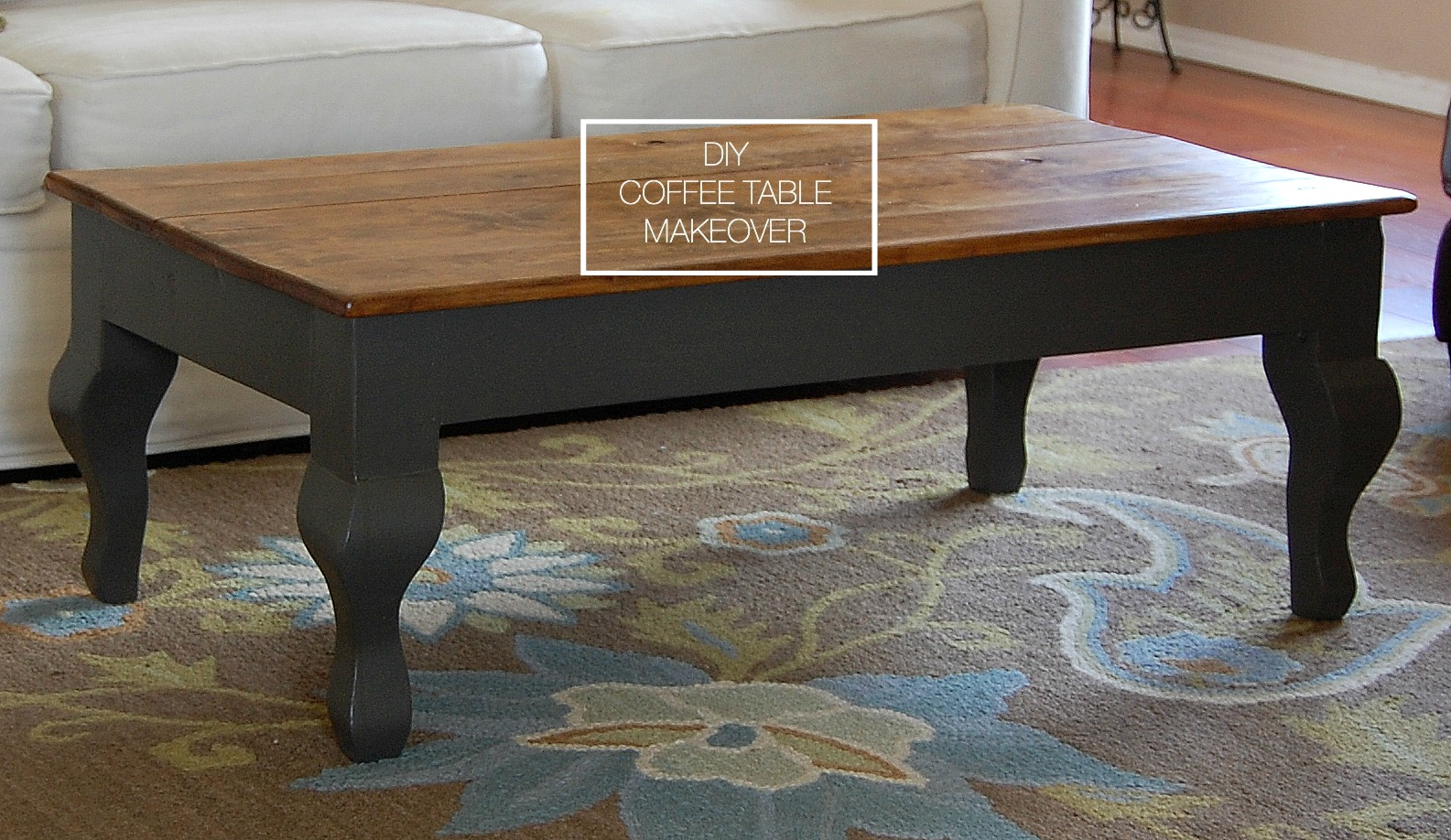 Coffee Table Makeover {Before & After} / Desert Willow Lane