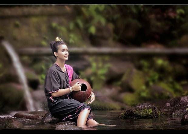 Baju adat Lambung khas Sasak Lombok