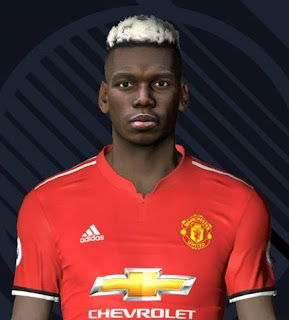 PES 2017 Faces Paul Pogba by Facemaker Ahmed El Shenawy