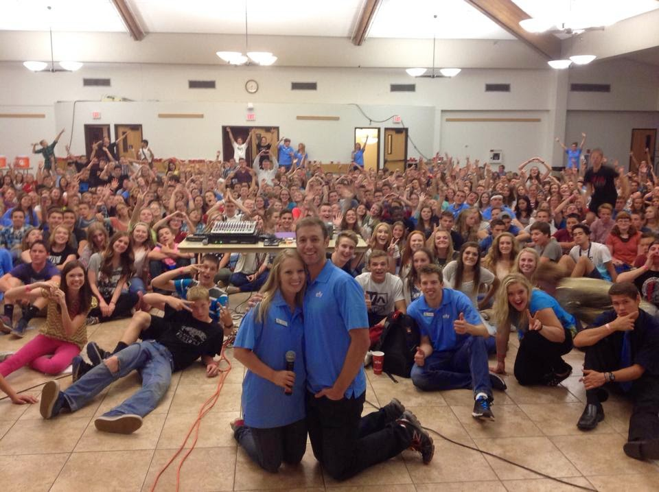 Our Family: EFY flagstaff, last year for James