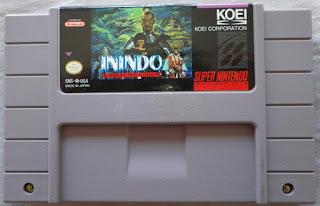 Inindo - Way of the Ninja - Cartucho delante