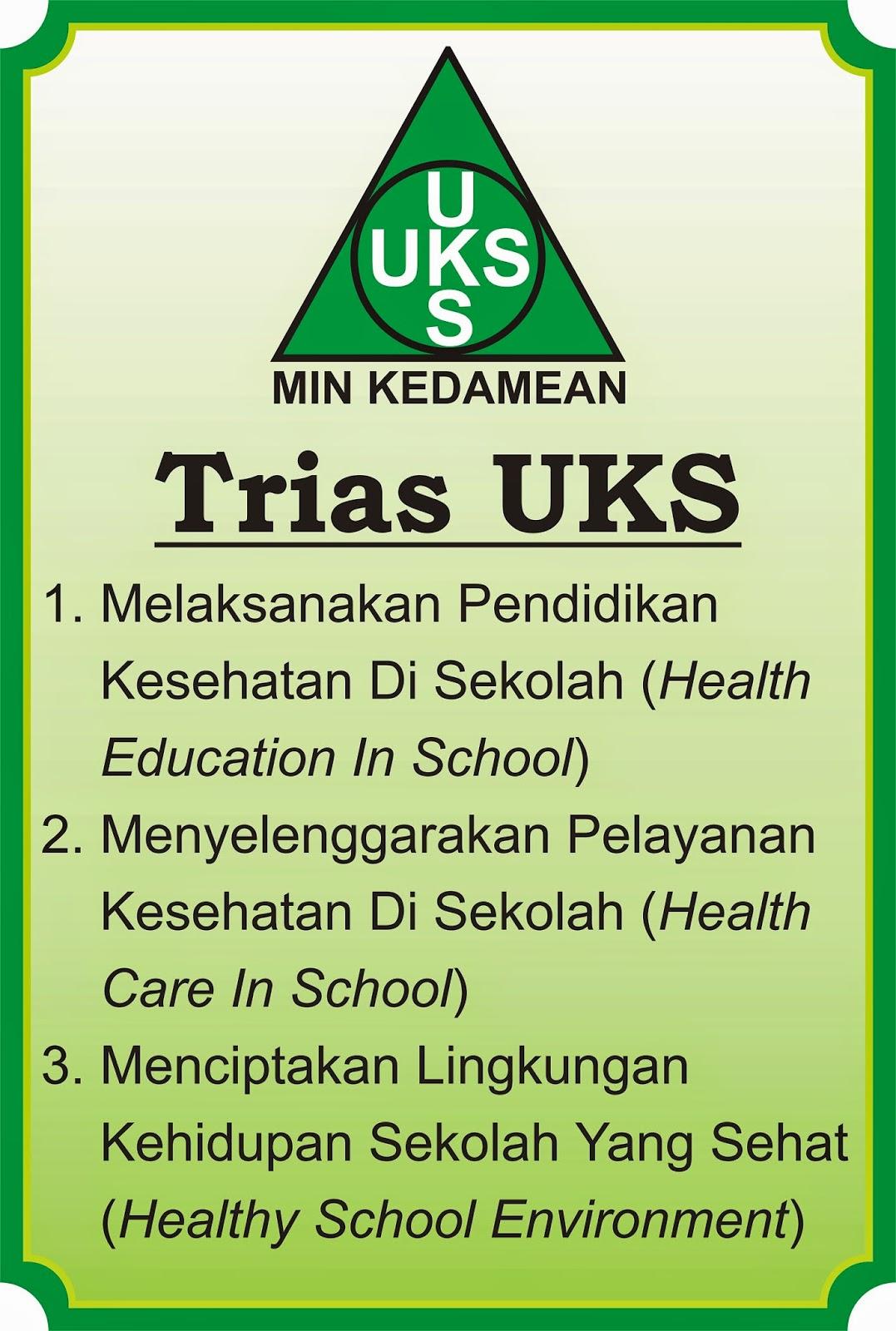 Tiga misi UKS