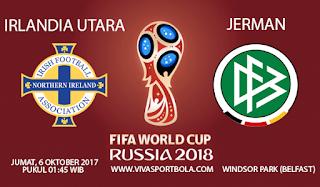 Prediksi Irlandia Utara vs Jerman 6 Oktober 2017