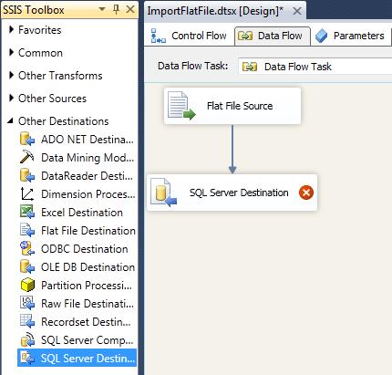 SQL Server Desitnation