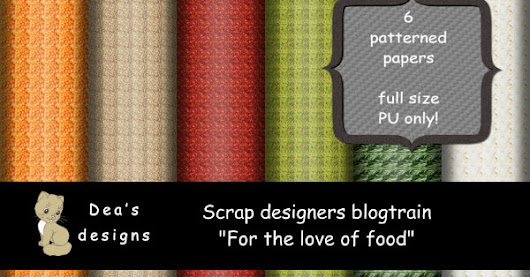 Scrap designers - For the love of food