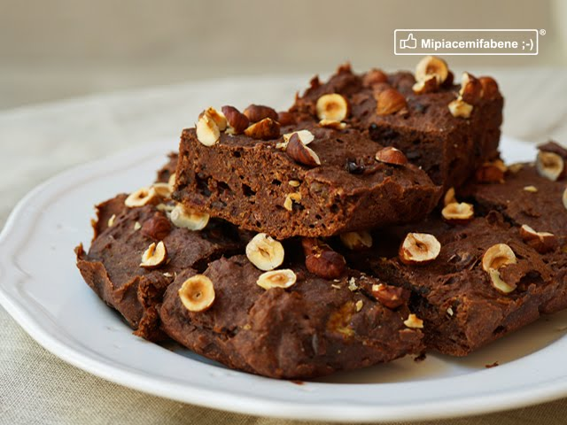 Brownies Banana e Cacao - Vegan e Sugarfree