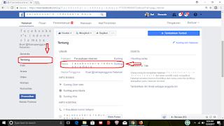 Cara mengganti nama fanspage di facebook dengan mudah